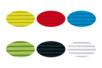 Carton ondulé 50 x 70 cm - 6 rouleaux assortis (jaune citron, rouge, vert clair, bleu clair, noir et blanc) - Carton ondulé 12248 - 10doigts.fr