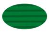 Carton ondulé 50 x 70 cm vert foncé - 1 rouleau - Carton ondulé 12239 - 10doigts.fr