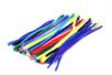 MAXI PACK : chenilles colorées 30 cm - Ø 6 mm (x 80) + Ø 9 mm (x 50) - Set de 130 - Chenilles, cure-pipe 03855 - 10doigts.fr
