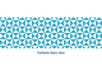 Coincoin tape (duck tape) auto-adhésif : Fantaisie blanc - bleu - Masking tape (Washi tape) - 10doigts.fr