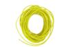 Cordon en coton ciré jaune- 5 m - Ø 1 mm - Fils en coton, échevettes 05856 - 10doigts.fr