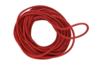 Cordon en coton ciré rouge - 5 m - Ø 2 mm - Fils en coton, échevettes - 10doigts.fr