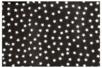 Coupon de tissu en coton imprimé (43 x 53 cm) - Etoiles sur fond noir - Coupons de tissus 30167 - 10doigts.fr