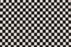 Coupon de tissu en coton imprimé ( 43 x 53 cm ) - Damier noir et blanc - Coupons de tissus 30105 - 10doigts.fr