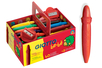 Crayons cire incassables Giotto + 2 tailles crayons OFFERT - Set de 40 - Crayons cire 11630 - 10doigts.fr