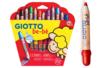 Crayons de couleur à la cire - Pochette de 12 crayons + 1 taille-crayons GRATUIT  - Crayons de couleurs 06483 - 10doigts.fr