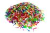 Epingles colorées en plastique - Set de 2000  - Clous et épingles - 10doigts.fr