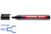Marqueur permanent noir - Pointe large ogive 3 mm - Feutres Marqueurs Dessin 05729 - 10doigts.fr