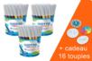 Feutres grosses pointes GIOTTO - 3 pots de 48 feutres + CADEAU 16 toupies à colorier - Feutres pointes larges 33157 - 10doigts.fr