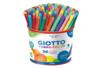 Feutres Giotto Turbo Color - 1 pot de 96 feutres - Feutres pointes moyennes 02854 - 10doigts.fr