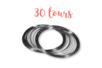 Fil mémoire 30 tours - Ø 6 cm - Bracelets 01291 - 10doigts.fr