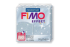 Fimo Effect 57 gr - Argent pailleté - N° 812 - Fimo Effect 02253 - 10doigts.fr