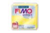 Fimo Effect 57gr - jaune translucide - N° 104 - Fimo Effect 02240 - 10doigts.fr