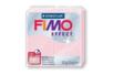 Fimo Effect 57gr - rose quartz translucide nacré - N° 206 - Fimo Effect 16497 - 10doigts.fr