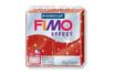 Fimo Effect 57 gr - Rouge pailleté - N° 202 - Fimo Effect 05828 - 10doigts.fr