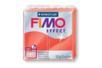 Fimo Effect 57 gr - Rouge translucide - N° 204 - Fimo Effect 02241 - 10doigts.fr