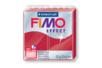 Fimo Effect 57 gr - Rouge rubis métallisé - N° 28 - Fimo Effect 02234 - 10doigts.fr