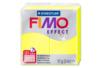 Fimo néon 57 gr - Jaune  - Fimo Effect 40136 - 10doigts.fr