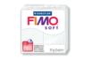 Fimo Soft 57 gr - Blanc - N° 0 - Fimo Soft 05820 - 10doigts.fr