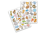 Gommettes animaux rigolos 2 - 1 set (2 planches) - Gommettes Animaux 18494 - 10doigts.fr