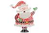 Suspension Père Noël avec mosaïques - Activités de Noël en kit 27903 - 10doigts.fr