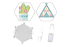 Kit Perles d'eau fusibles  tipi & cactus - Kits activités clés en main 36204 - 10doigts.fr