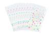 Sachets cristal à pois 11,5 x 19 cm - Lot de 100 - Feuilles en plastique 35069 - 10doigts.fr