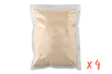 Sachets de 1 kg de sable à modeler - Lot de 4 - Sable à modeler 38299 - 10doigts.fr