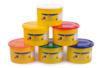 Pâtes à modeler (dès 2 ans) - 6 pots de 460 gr - Pâtes à modeler non durcissantes à l'air  13567 - 10doigts.fr