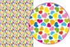 Magic Paper Cœurs multicolores - Washi paper / Magic paper 19120 - 10doigts.fr