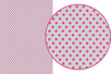 Magic Paper Etoiles roses sur fond gris - Washi paper / Magic paper 19068 - 10doigts.fr