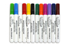 Marqueurs peinture - 12 couleurs assorties - Peinture Verre et Faïence - 10doigts.fr