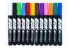 Marqueurs peinture - Set de 12 couleurs assorties (hors argent et or) - Marqueurs peintures - 10doigts.fr