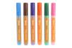 Marqueurs peinture textiles, couleurs complémentaires - Set de 6 couleurs - Feutres Marqueurs Dessin 14863 - 10doigts.fr
