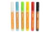 Marqueurs peinture textiles, couleurs de base  - Set de 6 couleurs - Feutres Marqueurs Dessin 14862 - 10doigts.fr