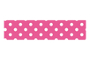 Masking tape 15 mm x 10 m - Rose à pois blancs - Rubans adhésifs et Masking tape - 10doigts.fr