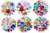 Pack Promo Strass assortis - 6 sets (1550 strass) - Strass - 10doigts.fr