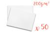 Ramette de papier blanc A3 200 gr - 50 feuilles - Ramettes de papiers 11253 - 10doigts.fr