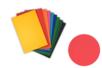 Papier coloré 220 gr ,10 couleurs assorties - 35 x 50 cm - 60 feuilles - Ramettes de papiers - 10doigts.fr