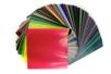 Papier vitrail (42 gr/m²) 15 x 15 cm - 500 feuilles - Papier Vitrail 02555 - 10doigts.fr