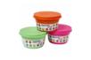 Pâtes à modeler GIOTTO Bé-Bé - 100 gr - 3 pots : orange, vert, rose  - Modelage 1er âge 05369 - 10doigts.fr