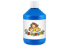 Peinture acrylique 500 ml - Bleu clair (cyan primaire) - Acryliques scolaire 11770 - 10doigts.fr