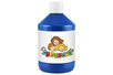 Peinture acrylique 500 ml - Bleu foncé - Acryliques scolaire 11771 - 10doigts.fr