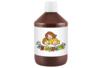 Peinture acrylique 500 ml - Marron - Acryliques scolaire 11774 - 10doigts.fr