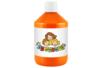 Peinture acrylique 500 ml - Orange - Acryliques scolaire 11766 - 10doigts.fr