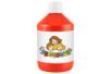 Peinture acrylique 500 ml - Rouge écarlate (vrai rouge) - Acryliques scolaire - 10doigts.fr