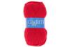 Pelote de laine Azurite - Rouge - Laine 01208 - 10doigts.fr