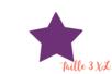 Perforatrice étoile méga Jumbo 3XL - Taille découpe : 7 x 6.7 cm - Perforatrices fantaisies 07281 - 10doigts.fr