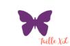 Perforatrice  papillon Jumbo XL - Taille découpe :  4 x 3 cm - Perforatrices fantaisies 07279 - 10doigts.fr