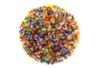 Perles de rocaille lumineuses 150 gr - Multicolore - Perles de rocaille 11169 - 10doigts.fr
